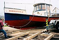Peerless Project dry docking 2004