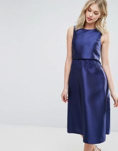 Oasis Premium 2 in 1 Midi Dress. | dresslover.co.uk