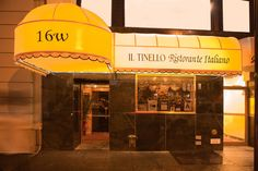 IL Tinello Ristorante | 16 W. 56th St | 212-245-4388 | www.iltinellony.com | $$$ | Upscale Casual | Lunch: Mon.-Fri.: 12PM-3PM; Dinner: Mon.-Sat.: 5PM-10PM| Italian | 0.7 miles from hotel | 4 min. driving | 7 min. walking