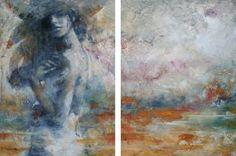 """Saatchi Art Artist Evelyn Hamilton; Painting, """"Sunday"""" #art"""