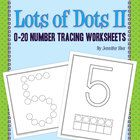 Customers who have purchased my popular Lots of Dots: Alphabet Tracing Sheets have requested a number version.  Here it is!  These letter tracing s...