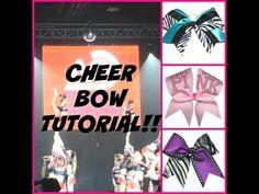 Cheer Bow Tutorial! - YouTube
