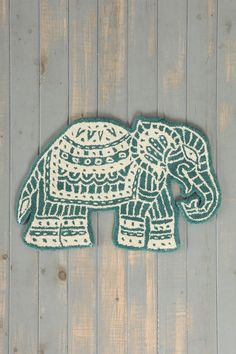 Magical Thinking Elephant Handmade Rug - Urban Outfitters