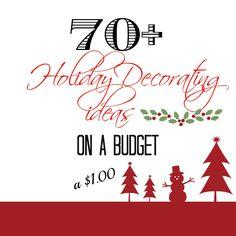 Dollar tree Christmas crafts, decor and more! - Debbiedoo's   Debbiedoo's