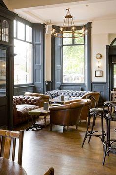 Nice sofas and windies The Rosendale - Dulwich pub, pub, gastropub, West Dulwich pub