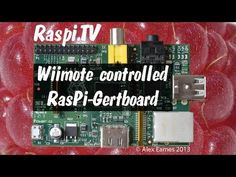 Using a Wii controller with your Raspberry Pi, Gertboard, Bluetooth and Python » RasPi.TV