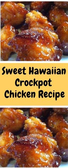 Sweet Hawaiian Crockpot Chicken Recipe Ingredients: 2 lb. chicken tenderloin chunks 1 cup pineapple juice cup brown sugar cup soy sauce Instructions: Combine all together, cook on low in Crock-pot hours…that's it! Crockpot Dishes, Crock Pot Cooking, Healthy Crockpot Recipes, Slow Cooker Recipes, Cooking Recipes, Cooking Tips, Cooking Videos, Crock Pot Healthy, Tacos Crockpot