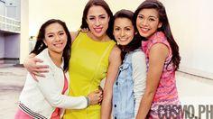 #BFFPeg: Ateneo Lady Eagles Alyssa Valdez, Amy Ahomiro, Den Lazaro, And Ella De Jesus