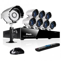 Zmodo 8CH Best Home Security Camera System andamp #besthomesecuritysystem