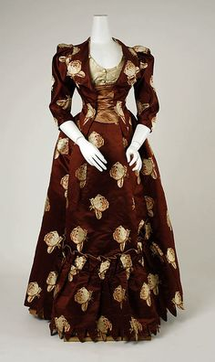 Dress Charles Fredrick Worth, 1883 The Metropolitan Museum of...