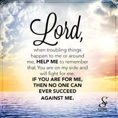 If God is for me, who can be against me? None, no not one. Praise Jesus!