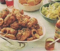 Fried chicken and onions Recipe