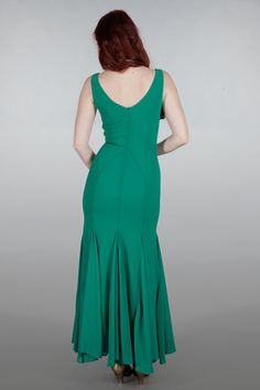 emmydesign - The diamond diva dress. Green chiffon