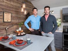 Drew and Jonathan Scott returned to their roots to renovate the ranch of family friends Rosemary and Tommy Bew. First up: The tiny, dated ranch hand cabin on the property.
