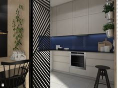 Kuchnia styl Nowoczesny - zdjęcie od UTOO- pracownia architektury wnętrz i krajobrazu - Kuchnia - Styl Nowoczesny - UTOO- pracownia architektury wnętrz i krajobrazu