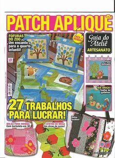 157 Guia do At. Patch Aplique n. 4 - maria cristina Coelho - Picasa Web Albums...FREE MAGAZINE WITH NICE APPLIQUÉS!!