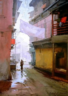 "Rajesh Sawant ""Silver Morning"""