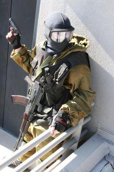 Speznatz Group Alfa- Soviet special forces, very badass
