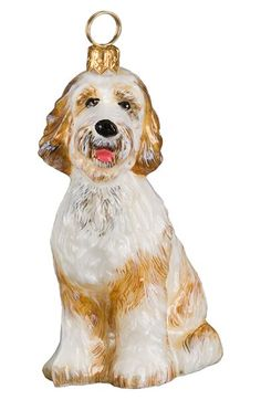 Joy to the World Collectibles 'Goldendoodle' Ornament available at #Nordstrom