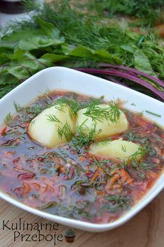 Zupa botwinka – przepis na pyszną zupę z młodych buraczków. Koniecznie musicie ją zrobić póki sezon trwa :)