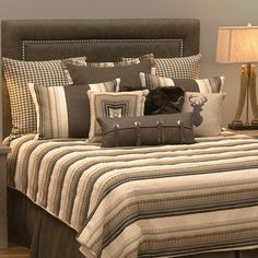 Loon Peak Graves Reversible Duvet Set Size: California King