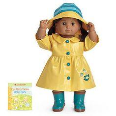 Sunny yellow rain gear