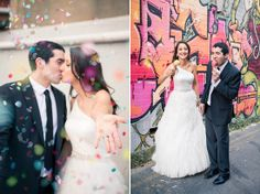 Michelle and Nathan's Flower Filled Wedding