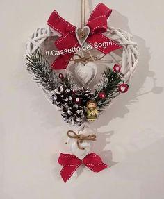 Cuore natalizio. .. https://www.facebook.com/Il-Cassetto-dei-Sogni-1890162974542736/