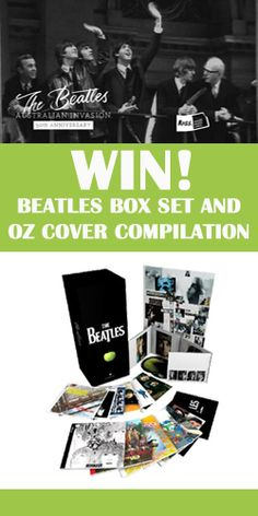 Win a Beatles Box Set   *expires July 9  #Win #Competition #Beatles #Box #Set #Recordings #ThenAndNow