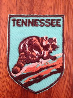 Tennessee Vintage Travel Patch by Voyager by HeydayRetroMart, $6.00