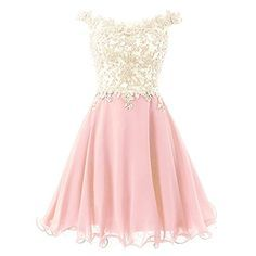 Homecoming Dresses Short Prom Dress Chiffon Cocktail Party Gowns for JuniorAppliques Beaded Dama Dresses, Junior Prom Dresses, Lace Homecoming Dresses, V Neck Prom Dresses, Quince Dresses, Formal Dresses, Quinceanera Dresses, Evening Dresses, Quinceanera Ideas