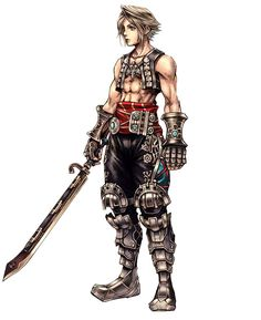 Vaan - Characters & Art - Dissidia 012 Final Fantasy