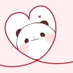 Amor Panda Love, Cute Panda, Panda Wallpapers, Cute Cartoon Wallpapers, Cute Kawaii Backgrounds, Pet Monsters, Panda Art, Kawaii Chibi, Bear Wallpaper