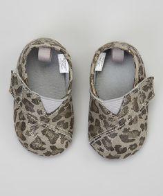 Gray Sparkle Leopard Shoe