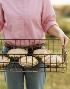 Mini pies, perfect for the Fourth!