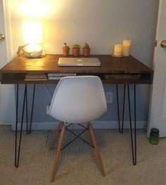 DIY Mid-Century Modern Desk