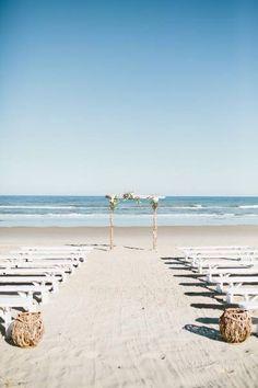 Casamento na praia.