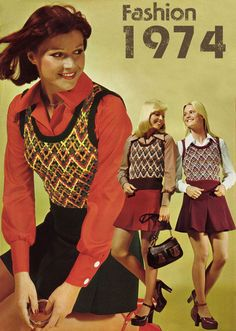 The Greatest Year in Women's Fashion History | Retrospace -- This link takes you to some of the groovy fashions of '74.