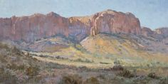 Coral Cliffs 15 x 30 oil/linen Private Collection