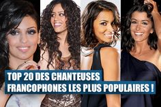 Top 20 des chanteuses Francophones les plus populaires sur les réseaux sociaux