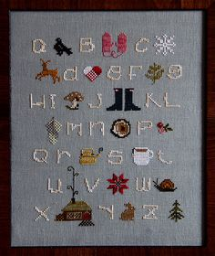 This is CUTE. If I ever decide I like counted crosstitch again, I should buy this kit.