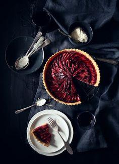 What Katie Ate » Katie's Rhubarb Tart…