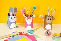 DIY les pots à crayons!