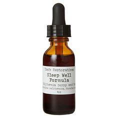 Isa's Restoratives Sleep Well Tincture-$14. #Design Sponge Herbal Remedies, Home Remedies, Natural Remedies, Herbal Tinctures, Herbalism, Spa, Herbal Medicine, Natural Medicine, Natural Healing