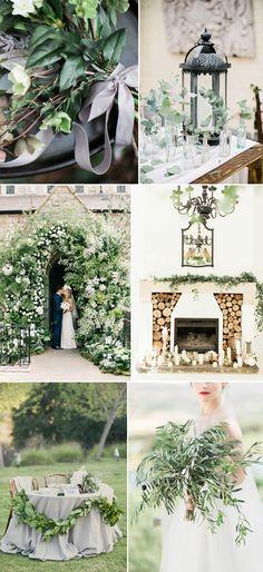 Pantone greenery, 2017 trend, Rock My Wedding