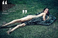 Asia Argento by Francesco Carozzini for Vogue Italia September 2013