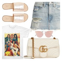 """Queen"" by floralandmay ❤ liked on Polyvore featuring Gucci, L.E.N.Y. and So.Ya"
