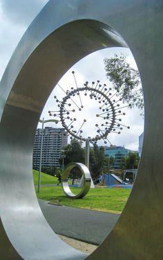 playful sculpture in Melbourne