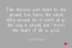 john mayer heart of life - Google Search