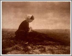 Alfred Stieglitz (1864-1946), The Net Mender - 1894